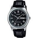 카시오 가죽손목시계 MTP-V006L-1B 남성 MTP-V006L-1