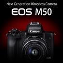 EOS M50 15-45mm+22mm더블킷 블랙 화이트