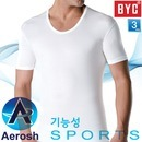 남성 면 반팔런닝 라운드 티셔츠 기능성내의 속옷세트