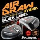 名品브랜드1위 2020 벤세이어스/BenSayers AIRDRAW BLACK PVD 고품격 프리미엄 하이브리드 유틸리티우드