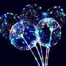 LED 반딧불 풍선 생일 파티용품 이벤트 응원봉 야광