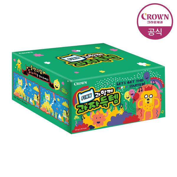 핀과제이크 과자득템 1세트(553g) 선물세트/간식