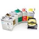 엡손 호환라벨테이프 6mm SD6KW(흰색글씨/검정바탕)