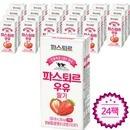 파스퇴르 전용목장1급A원유 딸기우유190ml(24팩)